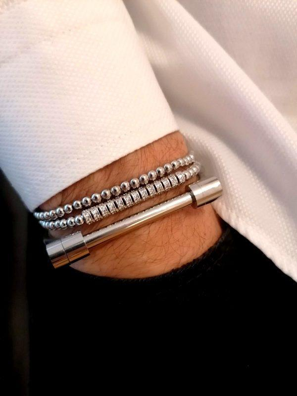 Men's Silver Bracelet With Stones, Men's Silver Bracelets For Sale, Men's Silver Bracelets With Diamonds, Mens Bracelets Silver, Mens Diamond Bracelet In Sterling Silver, Mens Silver Bracelet Designs,Men's Silver Bracelets With Diamonds