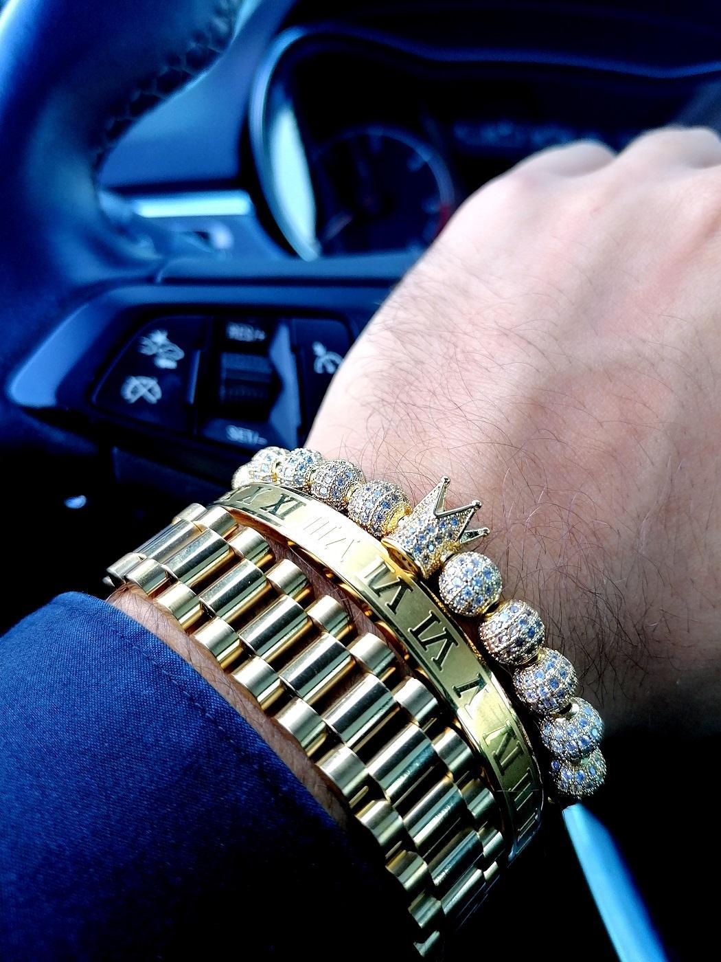 Real Diamond Bracelet, His Queen Her King Bracelets, Real Diamond Bracelet Mens, Bracelets For Him, Charm Bracelets, Beaded Bracelets, Bangle Bracelets, Beads For Bracelets, 14K Gold And Diamond Tennis Bracelet