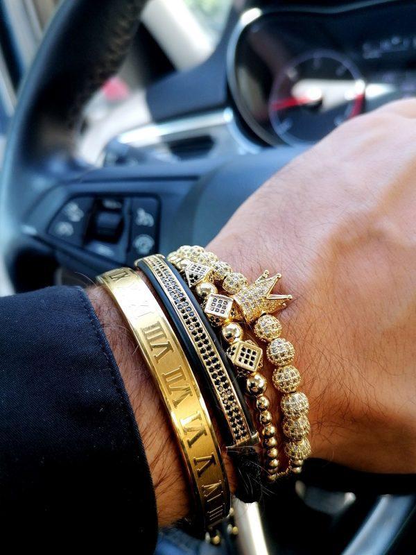 Mens Diamond Bracelet White Gold, Mens Gold Bracelet Price, Mens Gold Bracelets, Mens Gold Bracelets For Sale, Mens Gold Bracelets Near Me, Rose Gold Crown Bracelet, Rose Gold Crown Charm Bracelet, 14K White Gold Tennis Bracelet, White Gold Diamond Bracelet Womens, 14K Yellow Gold Diamond Tennis Bracelet, Amazon Jewelry Bracelets New York