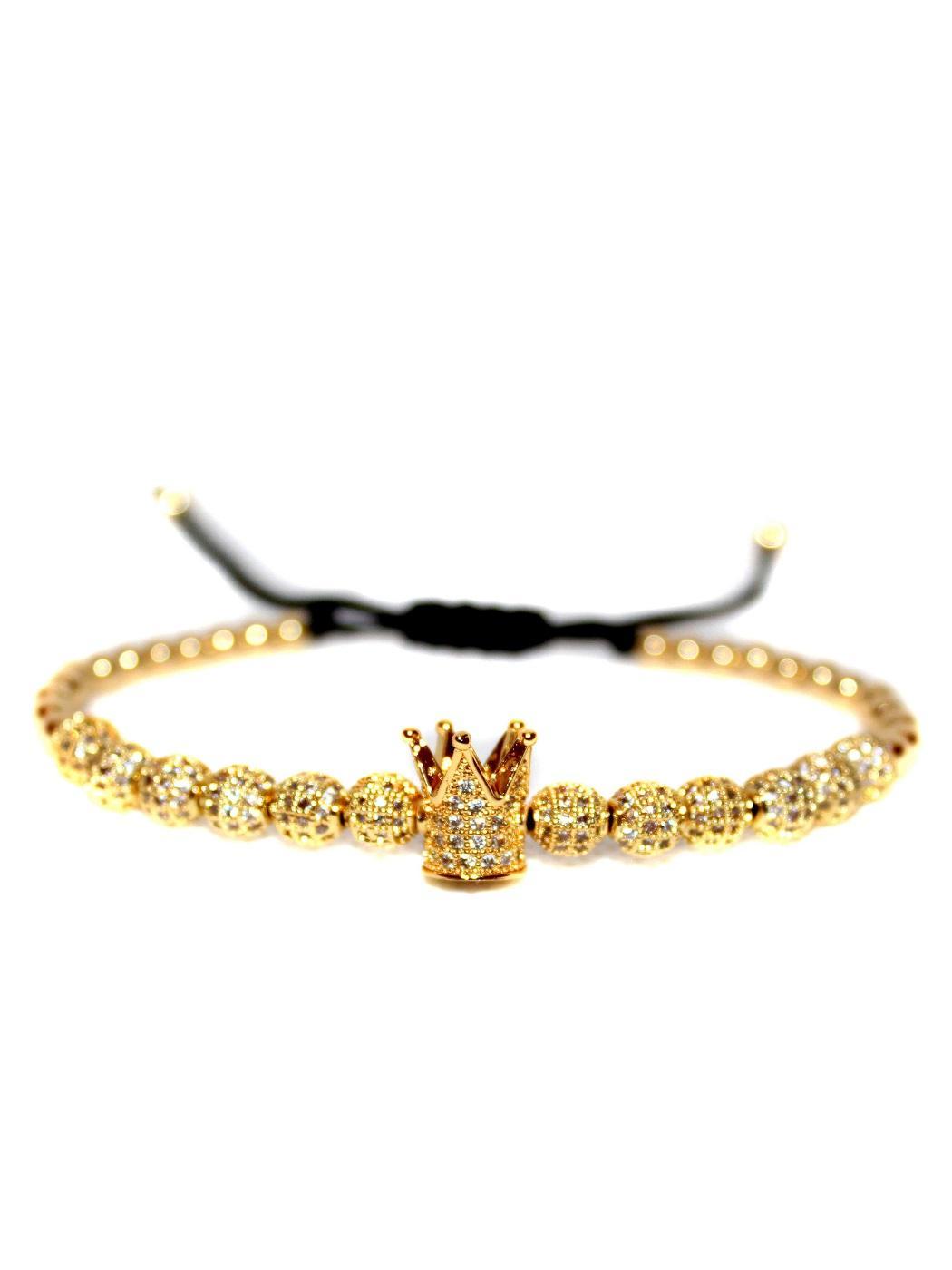 Fashion Jewelry Bracelets, Cool Bracelets With Meaning, Bracelet That You Can Add Charms To, Bangle Charm Bracelet Sets, Kings Beads, Guys Wearing Bracelets, Metal Charm Bracelets, Unique Charm Bracelet, Cheap Diamond Tennis Bracelet, Mens Crown Bracelet