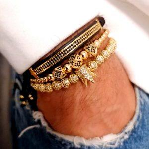 Queen Bracelet Gold, Bangles And Bracelets, Cuff Bracelets Cheap, Mens Ball Bracelet, 18k Bangles, Amazon Cuff Bracelet, Queen Crown Jewelry Bracelet for Women New York
