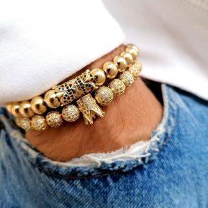 Diamond Tennis Bracelet Sale, Diamond Bracelets For Sale, Cool Bead Bracelets, Cheap Diamond Bracelet, Tennis Bracelets For Sale, Cheap Tennis Bracelet, Cz Bracelet, Tennis Bracelet Amazon, Bracelet Gift, Womens Gold Bangle Bracelets with crown charm