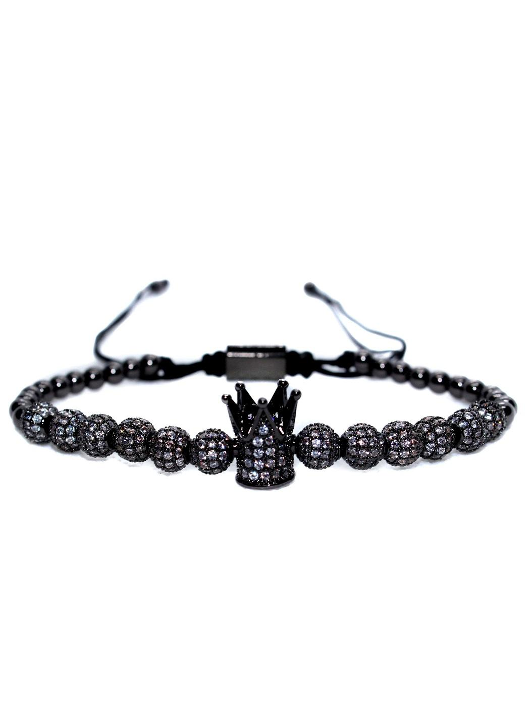 Imperial Crown Charm Bracelet, King And Queen Bead Bracelets, King And Queen Bracelets Near Me, King And Queen Crown Bracelet, King Bracelet, King Bracelet For Sale, His Queen Her King Bracelets