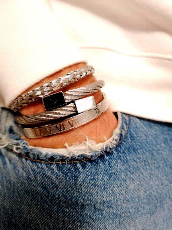 Buy Cool Mens Bracelets, Crown Bracelet, Crown Bracelet Charm, Crown King Charm Bracelet, Crystal Crown Bracelet, Crystal Crown Bracelet Mens, Diamond Bracelet, Diamond Bracelet Mens Cheap, Diamond Bracelet Mens Price, Imperial Crown Bracelet, Mens Stainless Steel Bracelets Chicago