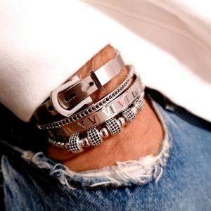 Metal Cuffs, Popular Mens Bracelet, Mens Stacked Bracelets, Amazon Bangles, Beads And Bangles, Famous Bracelets, 14K Diamond Bracelet, Charm Bracelet Set, Adjustable Bangle Bracelet, 10 Carat Diamond Tennis Bracelet, Simple Diamond Bracelet, Silver Stacking Bracelets