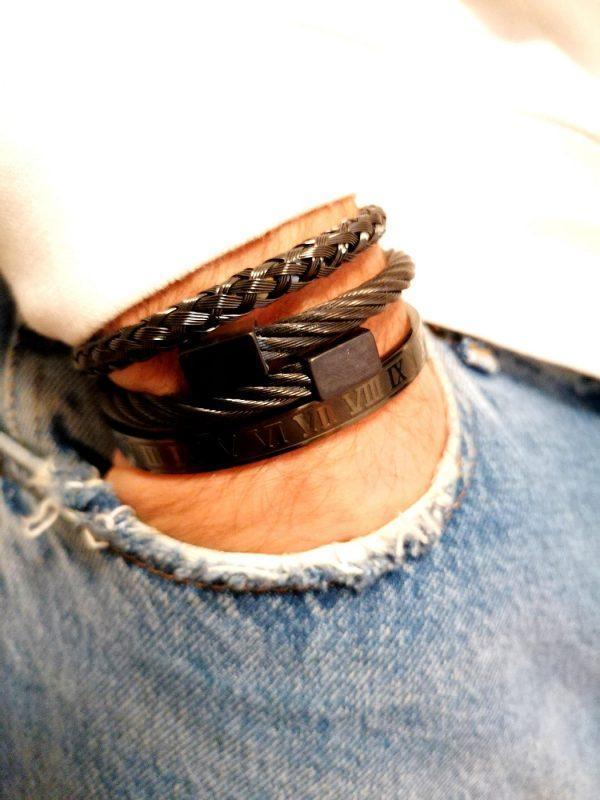 Best Beaded Bracelets For Men, Diamond Bracelet Mens Tennis, Mens Real Diamond Tennis Bracelet, Tennis Bracelet Bangle, My King Bracelet, Beaded Men Bracelets, Mens Beads For Bracelets, Bracelet Jewelry Men, Mens Leather Bangle, 2021 Men's Bracelets, Unique Gifts For Men Chicago