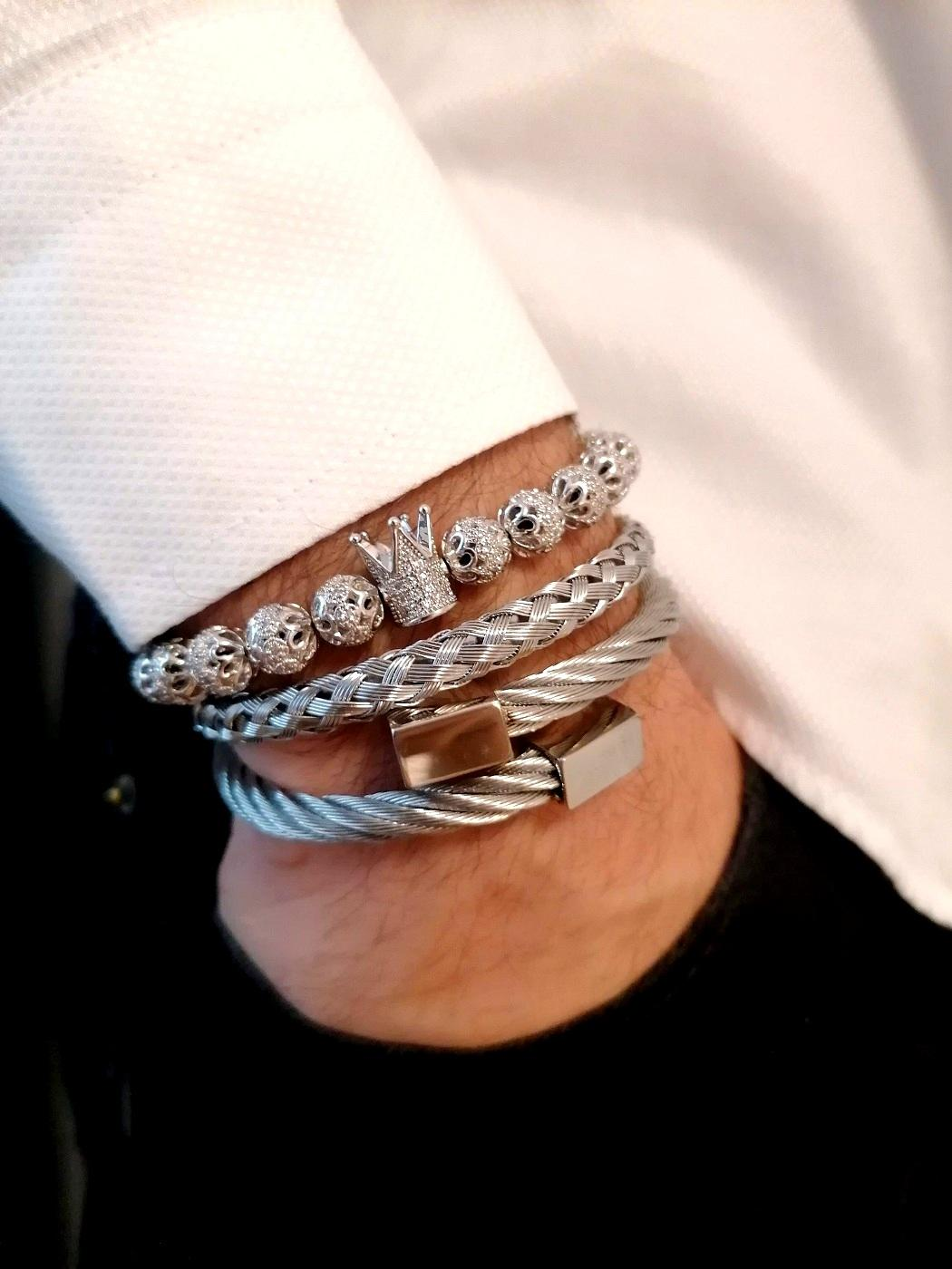 Royal Crown Bracelet, Royal Crown Bracelets, Soccer King Bracelet, Soccer King Bracelet Mens, Soccer King Bracelets, Wrist Beads For Guys, His Queen And Her King Bracelets, Real Diamond Bracelet Womens, His Queen Bracelet, Mens Beaded Bracelets Cheap, Mens Cubic Zirconia Bracelet, Mens Beaded Bracelets Amazon, All Diamond Bracelet, Amazon Jewelry Silver Bracelets