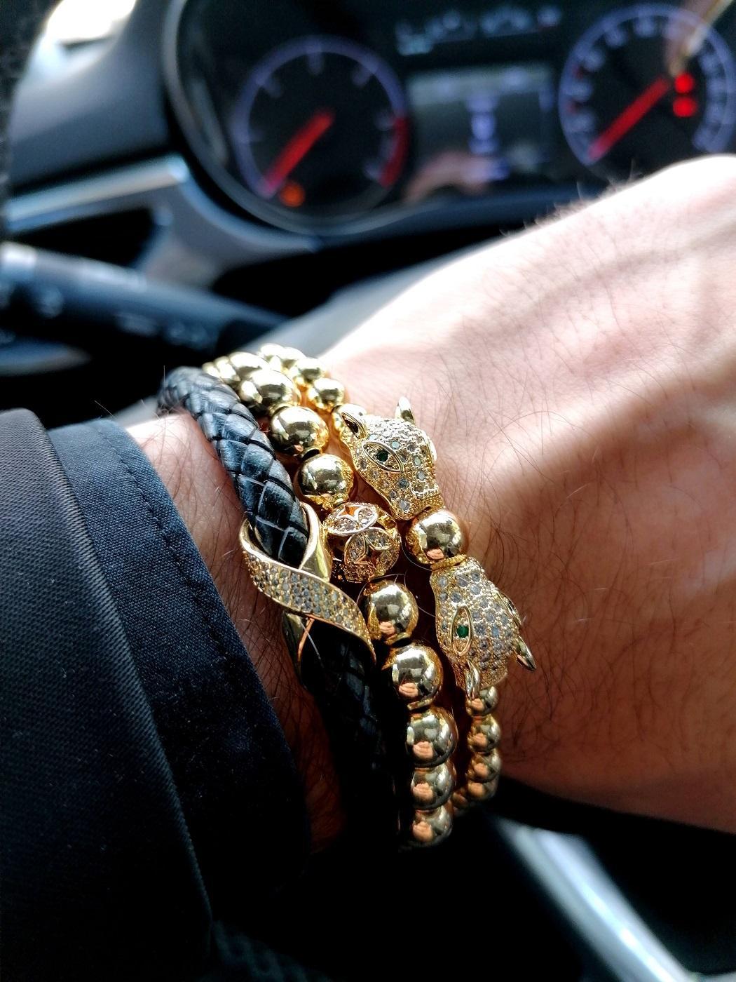 18K Gold Bracelet For Sale, Gold Leather Bracelet Mens, Mens Gold Band Bracelet, White Gold Tennis Bracelet Mens, Real Gold Tennis Bracelet, Real Gold Diamond Bracelet, 14K White Gold Diamond Tennis Bracelet, Mens Gold Rope Chain Bracelet, Women's Gold Bracelet With Diamonds, 18Kt Gold Bracelet Mens, Mens Rose Gold Bangle, 18K White Gold Mens Bracelet, Mens Gold Bangle Bracelet with Panther Charm