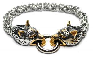 Bratara Freki auriu mitologia nordica Vikings