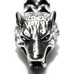 Bratara argintie Hod cu lupul nordic
