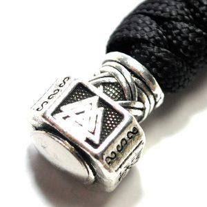 Breloc Thor Hammer negru-argintiu