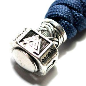 Breloc Thor Hammer textil albastru